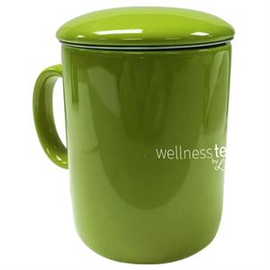 Picture of L'dara Infuser Green Mug with Lid